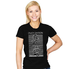 Enjoy Division - Record Collector - Womens - T-Shirts - RIPT Apparel