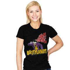 Battylands - Womens - T-Shirts - RIPT Apparel