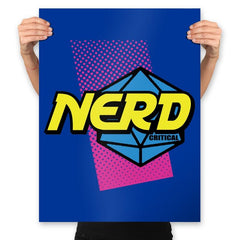 Nerd or Nothing - Prints - Posters - RIPT Apparel
