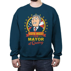 Vote West - Crew Neck Sweatshirt - Crew Neck Sweatshirt - RIPT Apparel