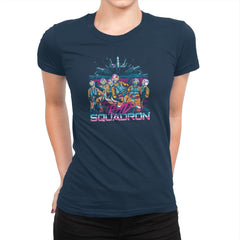 Rad Squadron Exclusive - Womens Premium - T-Shirts - RIPT Apparel