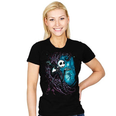 Upside Down Town - Womens - T-Shirts - RIPT Apparel