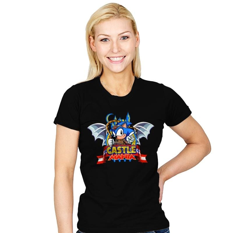 Castle Mania - Womens - T-Shirts - RIPT Apparel
