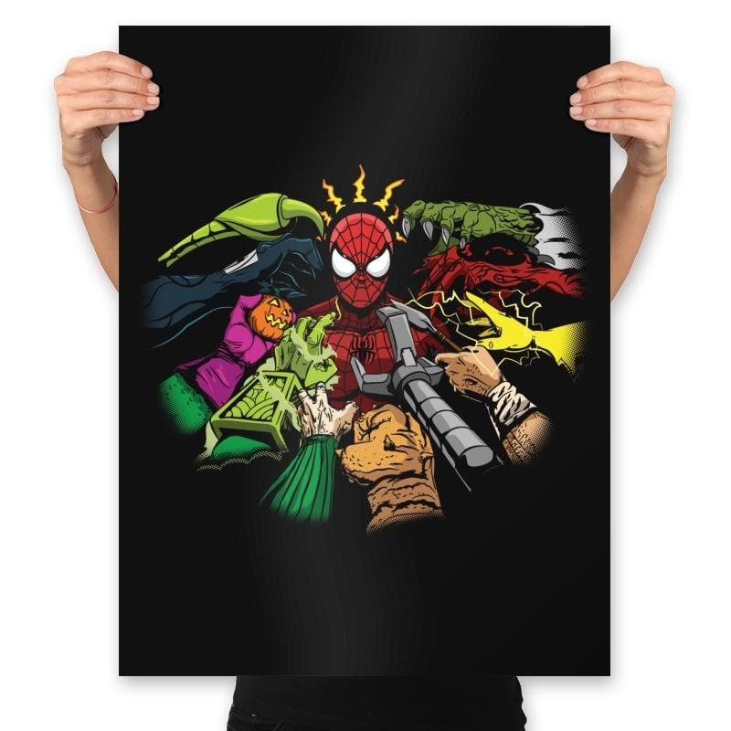 Spider-Yaga - Anytime - Prints - Posters - RIPT Apparel