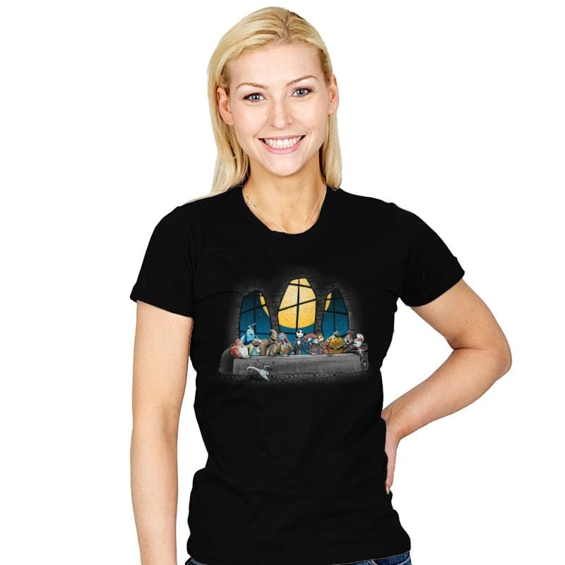 Dinner Before Christmas - Womens - T-Shirts - RIPT Apparel