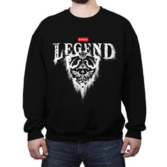 The Legend - Crew Neck Sweatshirt - Crew Neck Sweatshirt - RIPT Apparel