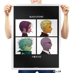 Demon Lord Days Exclusive - Anime History Lesson - Prints - Posters - RIPT Apparel