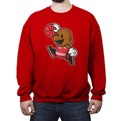 Air Mario  - Crew Neck Sweatshirt - Crew Neck Sweatshirt - RIPT Apparel
