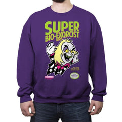 SUPER BIO-EXORCIST BROS. - Crew Neck Sweatshirt - Crew Neck Sweatshirt - RIPT Apparel