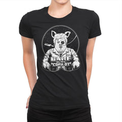 Barf Is My Copilot - Womens Premium - T-Shirts - RIPT Apparel