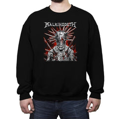 Walkingdeth - Crew Neck Sweatshirt - Crew Neck Sweatshirt - RIPT Apparel