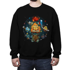 Solar Dice System - Crew Neck Sweatshirt - Crew Neck Sweatshirt - RIPT Apparel