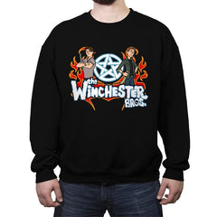 The Winchester Bros - Crew Neck Sweatshirt - Crew Neck Sweatshirt - RIPT Apparel