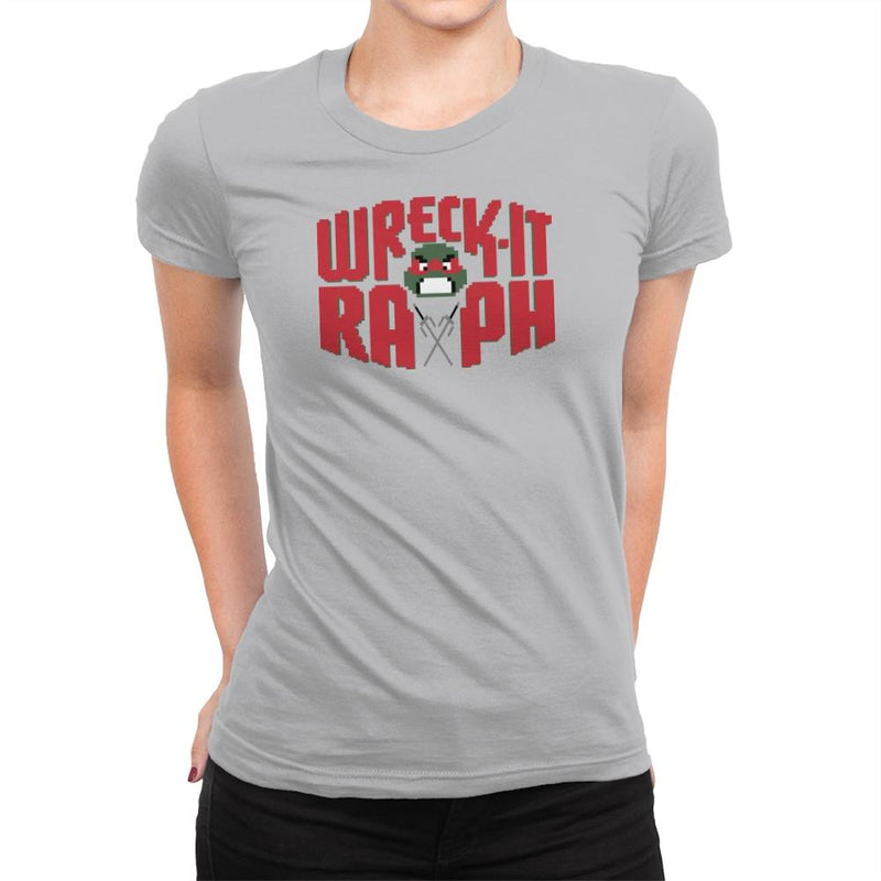 Wreck-It Raph Exclusive - Womens Premium - T-Shirts - RIPT Apparel