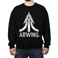 Arwing2600  - Crew Neck Sweatshirt - Crew Neck Sweatshirt - RIPT Apparel
