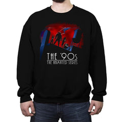 The Animated 90s - Crew Neck Sweatshirt - Crew Neck Sweatshirt - RIPT Apparel