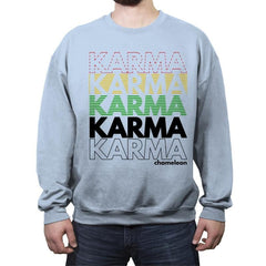 Karma Club - Crew Neck Sweatshirt - Crew Neck Sweatshirt - RIPT Apparel