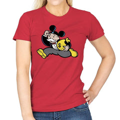 Mousopoly - Womens - T-Shirts - RIPT Apparel