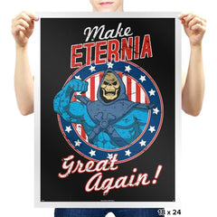 MAKE ETERNIA GREAT AGAIN - Prints - Posters - RIPT Apparel