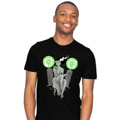 Pampered PinUp Bride - Mens - T-Shirts - RIPT Apparel