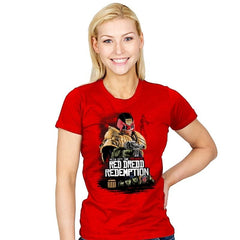Red Dredd - Womens - T-Shirts - RIPT Apparel