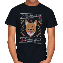 See you space cowdog... - Ugly Holiday - Mens - T-Shirts - RIPT Apparel