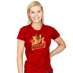 Amazon Fitness Reprint - Womens - T-Shirts - RIPT Apparel