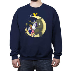 Moonlight Buddies - Crew Neck Sweatshirt - Crew Neck Sweatshirt - RIPT Apparel