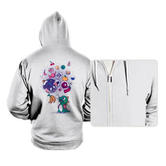Many Bubbles - Hoodies - Hoodies - RIPT Apparel