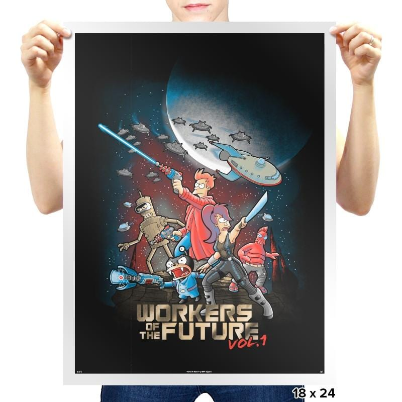 Workers of the Future vol 1 - Prints - Posters - RIPT Apparel