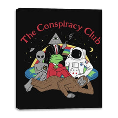 The Conspiracy Club - Canvas Wraps - Canvas Wraps - RIPT Apparel