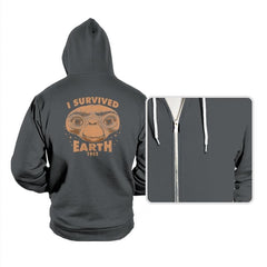 I Survived Earth - Hoodies - Hoodies - RIPT Apparel