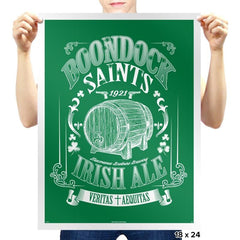 Boondocks Ale - Prints - Posters - RIPT Apparel