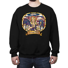 Our Lady of Slay - Crew Neck Sweatshirt - Crew Neck Sweatshirt - RIPT Apparel