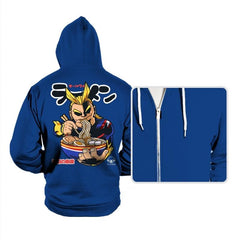 All Might Ramen - Hoodies - Hoodies - RIPT Apparel