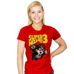 Super Wizard Bros. 3 - Womens - T-Shirts - RIPT Apparel