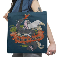 Princess of Dragons Exclusive - Tote Bag - Tote Bag - RIPT Apparel