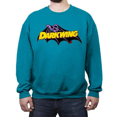 Darkwing Bat - Crew Neck Sweatshirt - Crew Neck Sweatshirt - RIPT Apparel