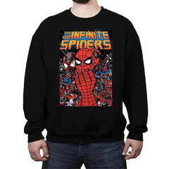 Infinity Spiders - Crew Neck Sweatshirt - Crew Neck Sweatshirt - RIPT Apparel