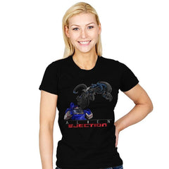 Alien Ejection - Womens - T-Shirts - RIPT Apparel