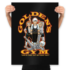 Golden's Gym - Prints - Posters - RIPT Apparel