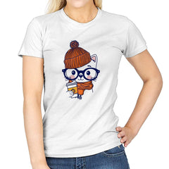 Trendy Cat - Womens - T-Shirts - RIPT Apparel