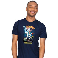 Groovy Space Adventures Reprint - Mens - T-Shirts - RIPT Apparel