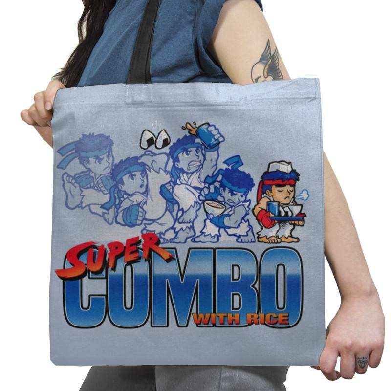 Super Combo with Rice Exclusive - Tote Bag - Tote Bag - RIPT Apparel