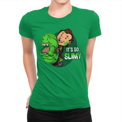 It's So Slimy - Womens Premium - T-Shirts - RIPT Apparel