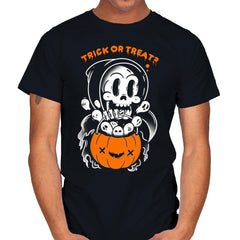 Death's Trick or Treat - Anytime - Mens - T-Shirts - RIPT Apparel