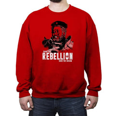 Save The Rebellion - Crew Neck Sweatshirt - Crew Neck Sweatshirt - RIPT Apparel
