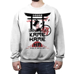 Kame School Of Martial Arts - Crew Neck Sweatshirt - Crew Neck Sweatshirt - RIPT Apparel