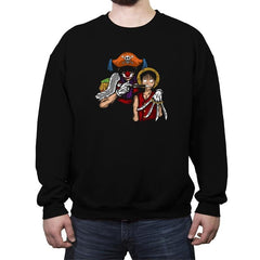 The Pirate Clown - Crew Neck Sweatshirt - Crew Neck Sweatshirt - RIPT Apparel