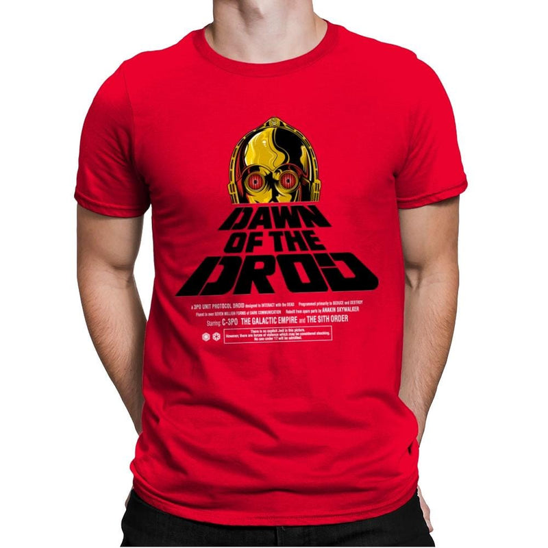 Dawn Of The Droid - Anytime - Mens Premium - T-Shirts - RIPT Apparel